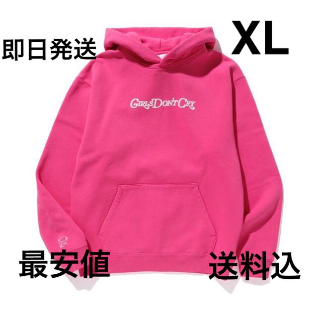 GDC(ジーディーシー)の最安値 値下げ不可 girls don't cry エンジェルフーディ ガルドン メンズのトップス(パーカー)の商品写真