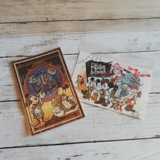ディズニー(Disney)の新品 ディズニー ポストカード 2枚セット(写真/ポストカード)