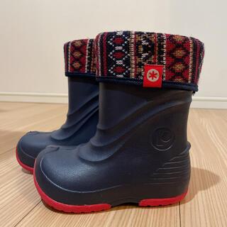 キッズ 長靴 雪 スノーブーツ  子ども 冬 ブーツ スキー 雪遊び(長靴/レインシューズ)