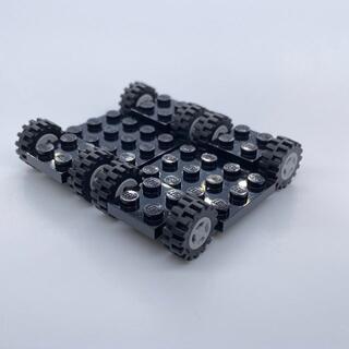 Lego - 【新品】LEGO 車 シャーシ グレー ホイール セット 2台