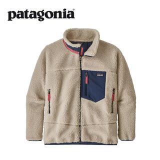 patagonia - 新品送料込(キッズXXL)パタゴニア レトロX フリースJKT