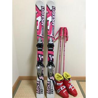 ジュニア スキー 板 ブーツセット(未就学児用)(板)