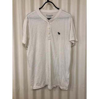 Abercrombie&Fitch - アバクロ ヘンリーネックtシャツ
