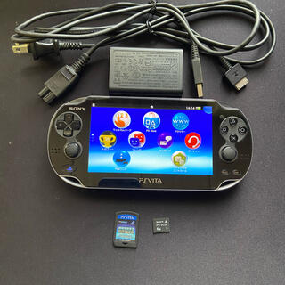 PlayStation Vita - PlayStation vita  ブラック 本体 ソフトセット PSvita
