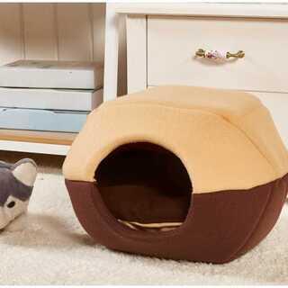 室内用ペットハウス(M) 犬 猫 ドーム/チグラ型 マット付き(かご/ケージ)