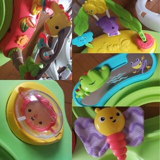 フィッシャープライス(Fisher-Price)のフィッシャープライス レインフォレスト・ジャンパルーⅡ(知育玩具)
