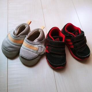 アディダス(adidas)の12cmベビーシューズ2足セット(スニーカー)