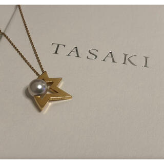 TASAKI - 販売証明書あり タサキ  あこや真珠 コメットネックレス  田崎真珠