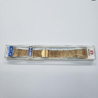 マルマン(Maruman)のmaruman 腕時計 バンド 新品未使用 ゴールド B276(金属ベルト)