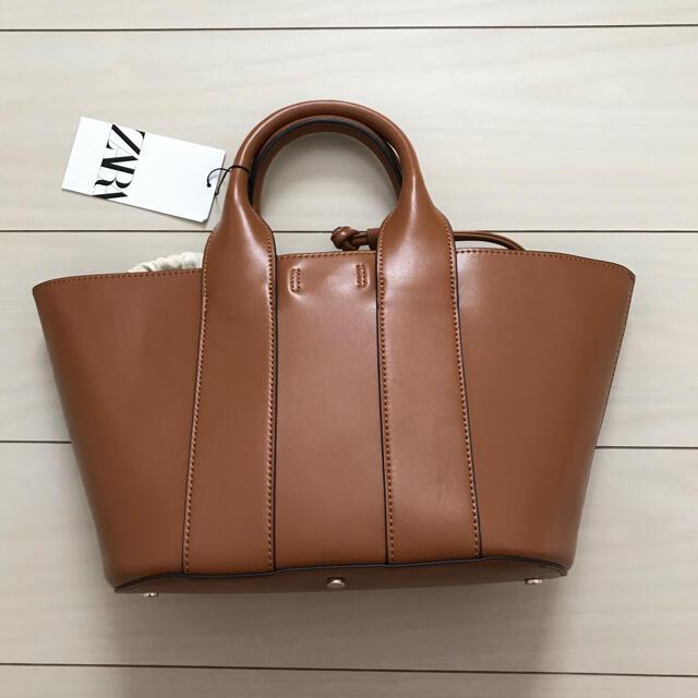ZARA(ザラ)のZARA ハンドトートバッグ レディースのバッグ(ハンドバッグ)の商品写真