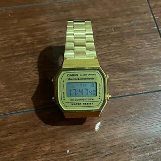 カシオ(CASIO)のチープカシオ 腕時計 ゴールド(腕時計(デジタル))