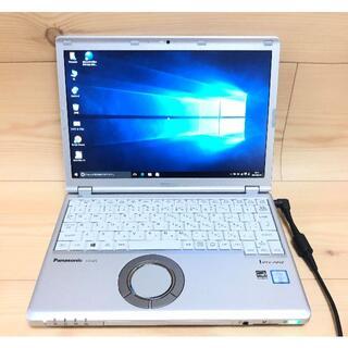 パナソニック(Panasonic)の高速SSD 中古ノートPC Pana CF-SZ5PDYVS i5 Win10(ノートPC)