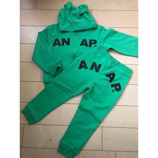 アナップ(ANAP)のANAP kids セットアップ 新品 100㎝(その他)