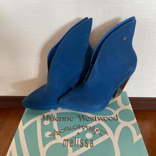 ヴィヴィアンウエストウッド(Vivienne Westwood)のヴィヴィアン×メリッサブーツ(ブーツ)
