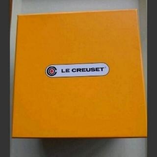 ルクルーゼ(LE CREUSET)のル・クルーゼミニココット、鍋つかみ1セット 新品未使用。(キッチン小物)