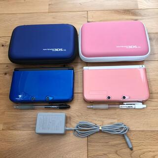 ニンテンドー3DS - 3DS LL 本体2個セット ACアダプタ付
