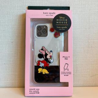ケイトスペードニューヨーク(kate spade new york)の【新品】ケイトスペード iphoneケース ミニー  iPhone 11 Pro(iPhoneケース)