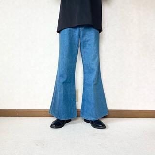 ジョンローレンスサリバン(JOHN LAWRENCE SULLIVAN)のflare wide jeans(デニム/ジーンズ)
