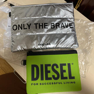 DIESEL - diesel ノベルティ ポーチ