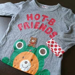 ホットビスケッツ(HOT BISCUITS)のミキハウス 90㎝ ホットビスケッツ(Tシャツ/カットソー)