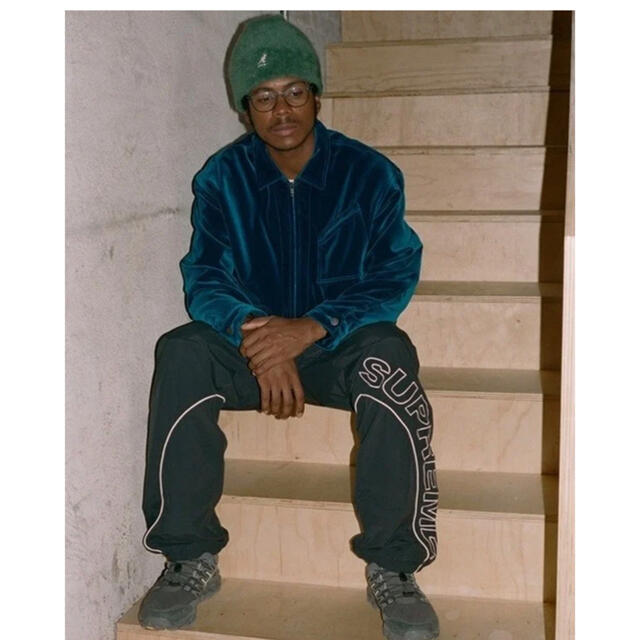 Supreme(シュプリーム)の【XL】Supreme Velvet Work Jacket メンズのジャケット/アウター(ブルゾン)の商品写真