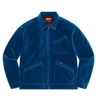 Supreme - 【XL】Supreme Velvet Work Jacket