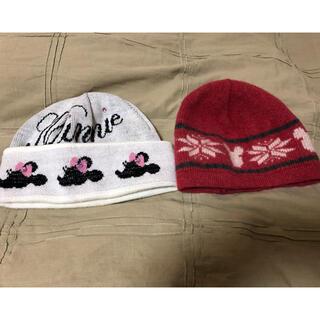 ディズニー(Disney)のディズニー ニット帽子 2個セット(ニット帽/ビーニー)