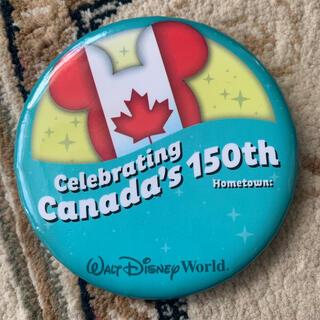 ディズニー(Disney)のディズニーワールド カナダデー150周年限定缶バッジ WDW(バッジ/ピンバッジ)