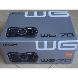 RICOH WG-70 [オレンジ]