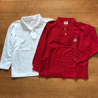 アカチャンホンポ(アカチャンホンポ)の120cm ポロシャツ 2点セット(Tシャツ/カットソー)