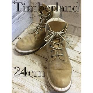 ティンバーランド(Timberland)のTimberland レディースブーツ ライトブラウン 24cm(ブーツ)