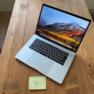 アップル(Apple)の1 MacBook Pro 15インチ 2017 i7 512GB 16GB(ノートPC)