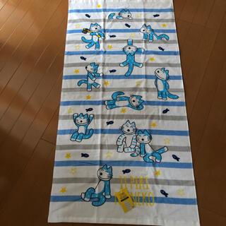 11匹のねこ 新品バスタオル(キャラクターグッズ)