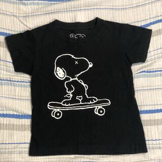 UNIQLO - ユニクロ キッズ スヌーピーx KAWSコラボtシャツ
