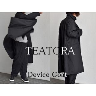 COMOLI - TEATORA テアトラ Device Coat packable BLACK