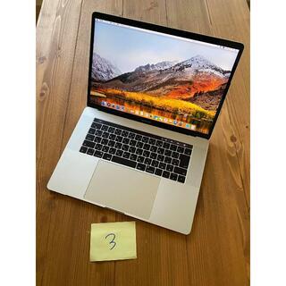 アップル(Apple)の3 MacBook Pro 15インチ 2017 16GB i7 512GB(ノートPC)
