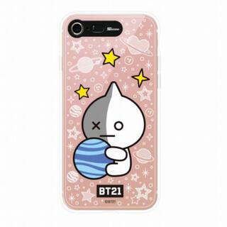 ボウダンショウネンダン(防弾少年団(BTS))のBTS💜BT21  iPhone ミラーライトアップケース(iPhoneケース)