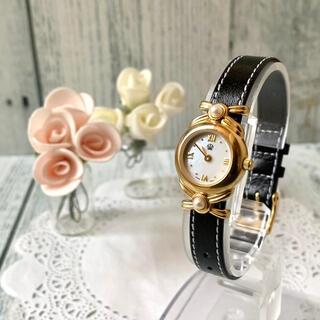 ミキモト(MIKIMOTO)の【電池交換済み】MIKIMOTO ミキモト 腕時計 パール シェル レディース(腕時計)