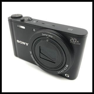 ソニー(SONY)の【ストロボ不可】 SONY DSC-WX350 ブラック 本体のみ(コンパクトデジタルカメラ)