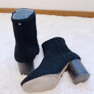 マルタンマルジェラ(Maison Martin Margiela)のメゾンマルジェラ  ボアブーツ ショートブーツ(ブーツ)