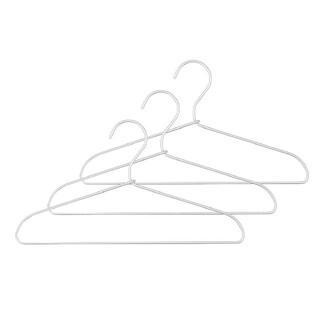 MUJI (無印良品) - 無印良品 MUJI / アルミ ハンガー 幅33cm 30本セット まとめ売り