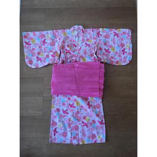 サンリオ(サンリオ)の【サンリオ】120㎝  浴衣(甚平/浴衣)