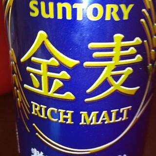 サントリー(サントリー)のサントリー金麦 リッチモルト 350ml(ビール)