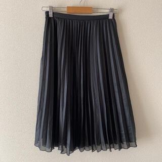 NATURAL BEAUTY BASIC - Natural Beauty Basic プリーツスカート ブラック