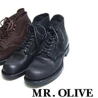 ミスターオリーブ(Mr.OLIVE)の【新品未使用】セブンホールハンティングブーツ(ブーツ)