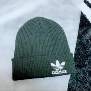 アディダス(adidas)の【新品未使用】adidas ニット帽(ニット帽/ビーニー)