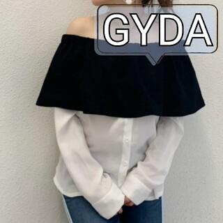 GYDA - 【新品未使用】GYDA/オフショルレイヤードSH