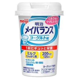 メイジ(明治)のメイバランスmini カップ ヨーグルト味(その他)