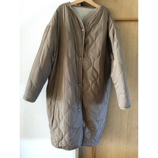 しまむら(シマムラ)のしまむら 近藤千尋 リバーシブルボアコート レディースのジャケット/アウター(ブルゾン)の商品写真