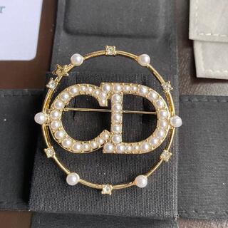 ディオール(Dior)のレディース Dior ブローチ  美品(ブローチ/コサージュ)